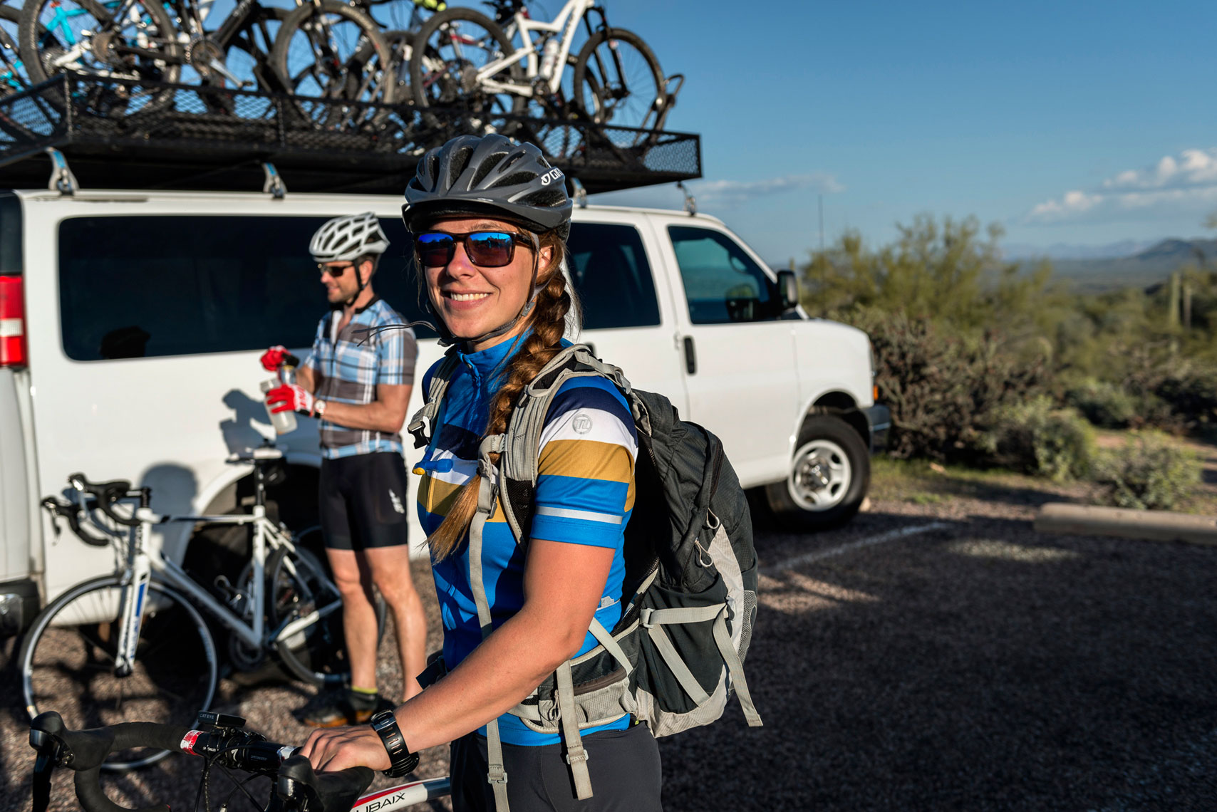 Mountain biking with Arizona Outback Adventures (AOA)